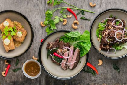 Lækre madbilleder af asiatisk mad